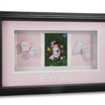 Triple Window Pink Shadow boxes